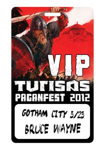 VIP Pass for Turisas shows at PaganFest 2012