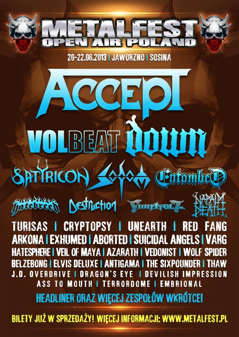 MetalFest Poland 2013