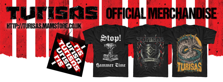 Turisas merchandise October 2013