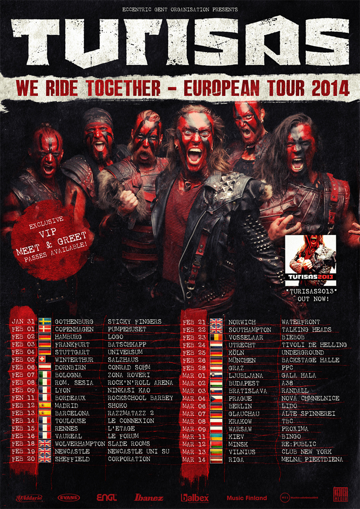 European tour 2014 all