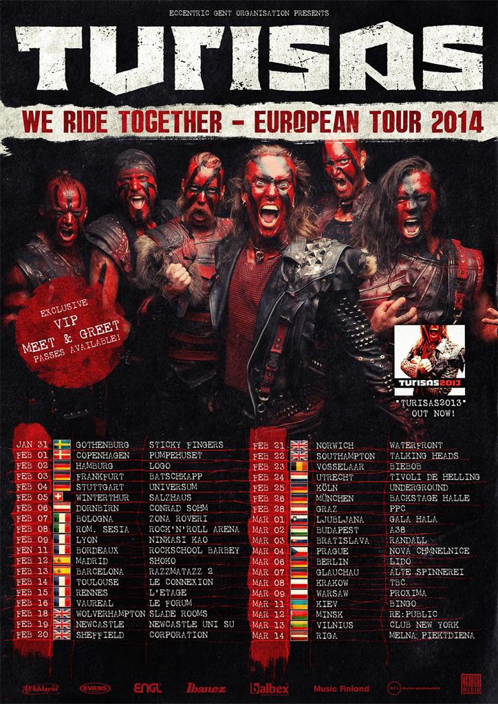 European tour 2014 all
