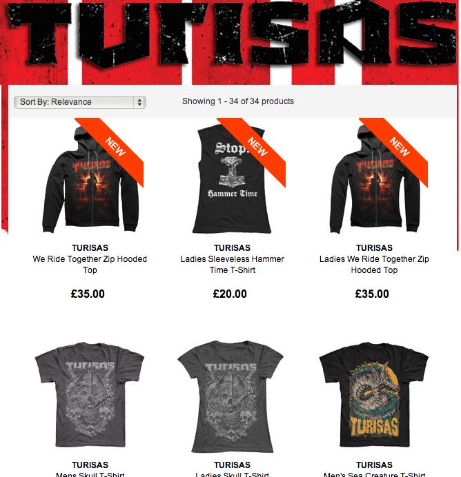 Turisas Webshop 2014